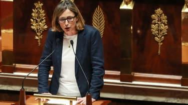 La députée Emmanuelle Ménard, à l'Assemblée nationale le 24 septembre 2019