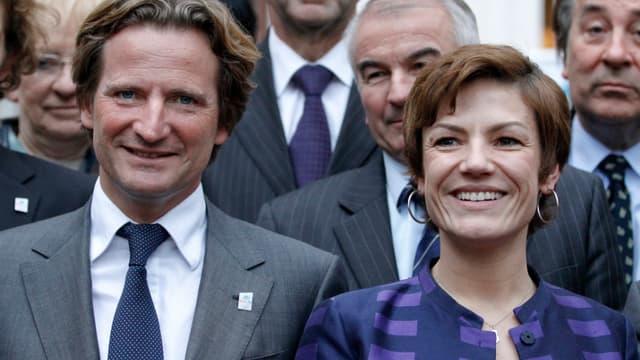 Charles Beigbeder et Chantal Jouanno.