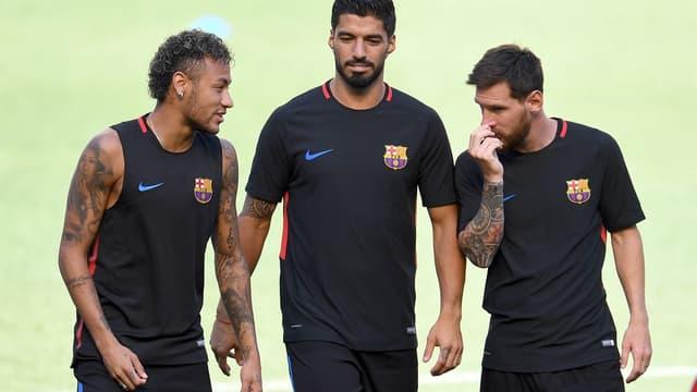 Neymar, Suarez et Messi