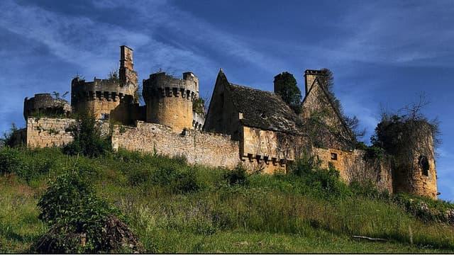 Le château de Paluel, un des nombreux châteaux à sauver