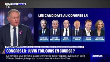 """Philippe Juvin sur le congrès LR: """"J'irai jusqu'au premier, peut-être même au second tour"""""""
