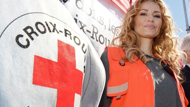 Adriana Karembeu a lancé le 28 mai les Journées Nationales de la Croix Rouge française (Photo d'illustration, datant de 2015)