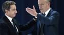 Alain Juppé et Nicolas Sarkozy le 30 mai dernier lors du congrès entérinant le changement de nom de l'UMP.
