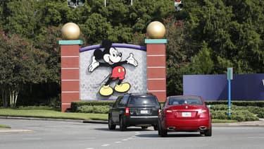 L'entrée de Disney World à Lake Buenavista en Floride, le 11 juillet 2020.