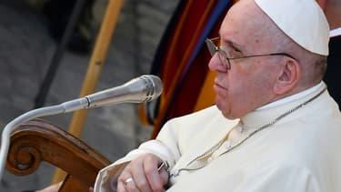 Le pape François au Vatican le 9 septembre 2020