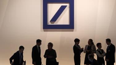 Deutsche Bank fait l'objet de vives inquiétudes.