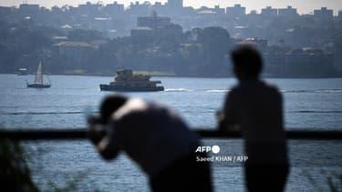 Sydney en proie à une épaisse fumée le 3 mai 2021