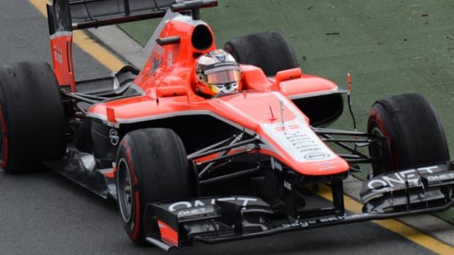 Jules Bianchi, à bord de sa Marussia, a réussi ses débuts
