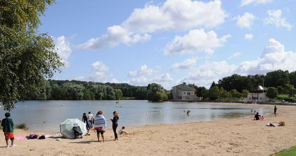 La base de loisirs de Bois-le-Roi, en Seine-et-Marne