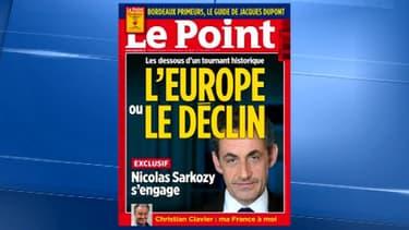 """Le Une du """"Point"""" du jeudi 22 mai"""