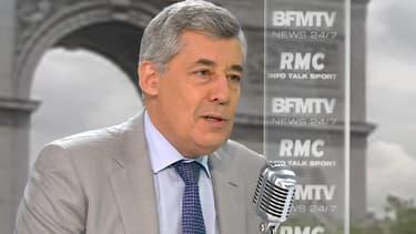 Le député Henri Guaino face à Apolline de Malherbe