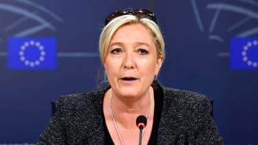 Marine Le Pen affirmait le 28 mai à Bruxelles que la création d'un groupe d'eurosceptiques au Parlement européen était proche.