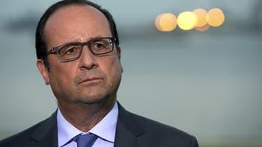 François Hollande - Philippe Wojazer - Pool - AFP