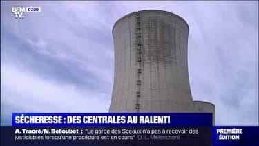 La sécheresse entraîne aussi une diminution de la production d'électricité en France
