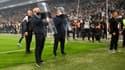 Les stadiers marseillais lors du match contre Paris