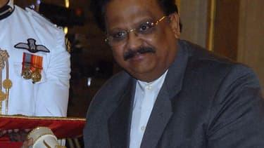 Le chanteur indien S.P. Balasubrahmanyam