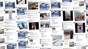 Les photos qui circulent sont aussi fausses que l'information qu'elles sont sensées prouver: il n'a pas neigé en Arabie Saoudite.