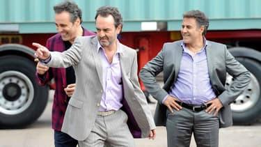 Gilbert Melki, Bruno Solo et José Garcia dans La Vérité si je mens 3