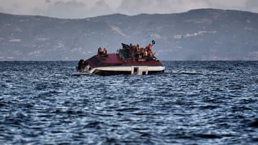 Un canot pouvant transporter jusqu'à 140 migrants a été retrouvé vide, au large de la Libye. (Photo d'illustration)