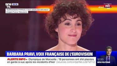 Barbara Pravi est la nouvelle voix française de l'Eurovision