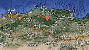 Les militaires sont tombés dans une embuscade à Iboudrarène, au pied du massif du Djurdjura, en Algérie.