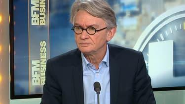 Jean-Claude Mailly était l'invité de BFM Business, mardi 23 février.