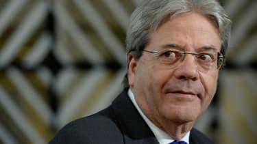 Paolo Gentiloni, le Premier ministre italien.