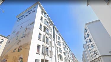 La cité Tony Garnier à Lyon.