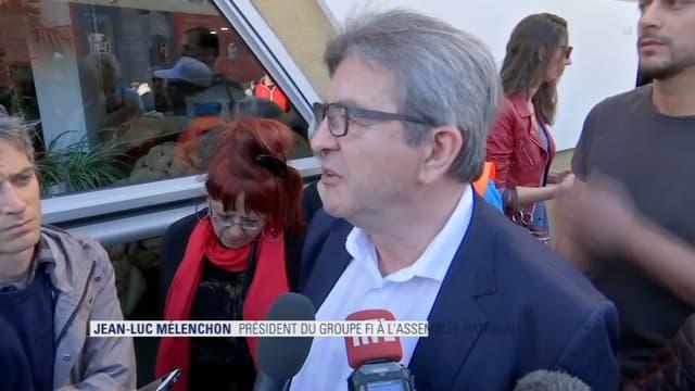 Jean-Luc Mélenchon à Marseille ce 2 mars.