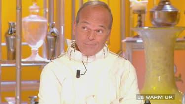 """Laurent Baffie sur le plateau de """"Salut les Terriens! sur C8"""