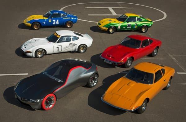 La ressemblance entre les modèles de 1968 et la nouvelle GT Concept saute plus aux yeux, une fois mises côte à côte.