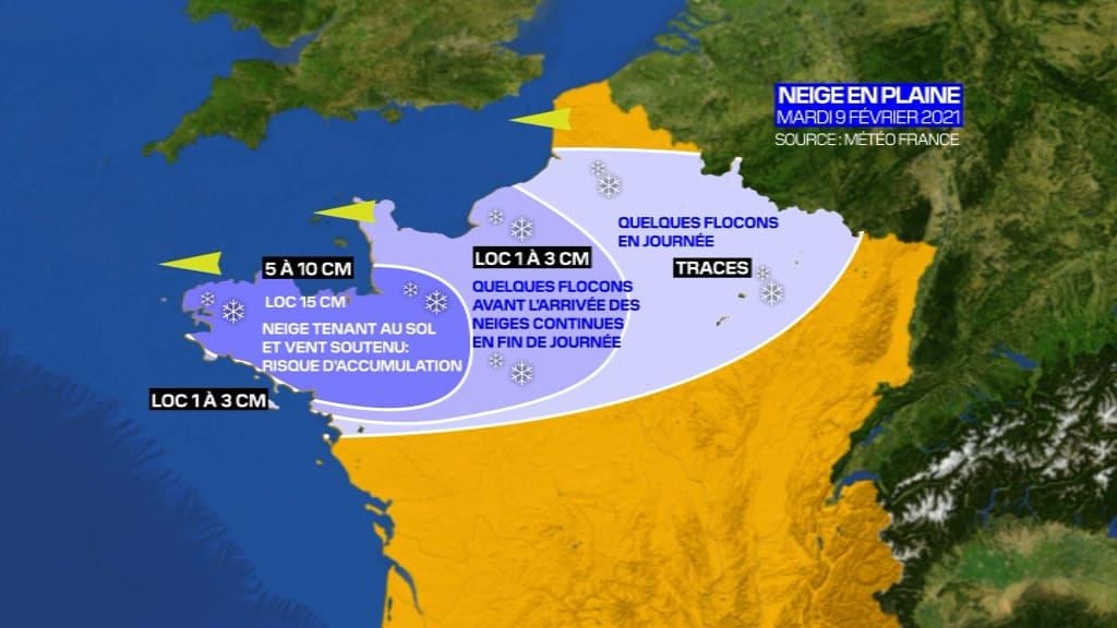 Jusqu'à -10°C: le froid arrive sur le nord de la France, voici ce à quoi vous devez vous attendre - BFMTV