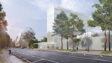 Visuel du bâtiment de la future Maison LVMH.