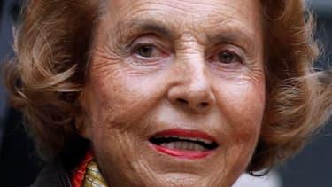 Liliane Bettencourt, en octobre 2011