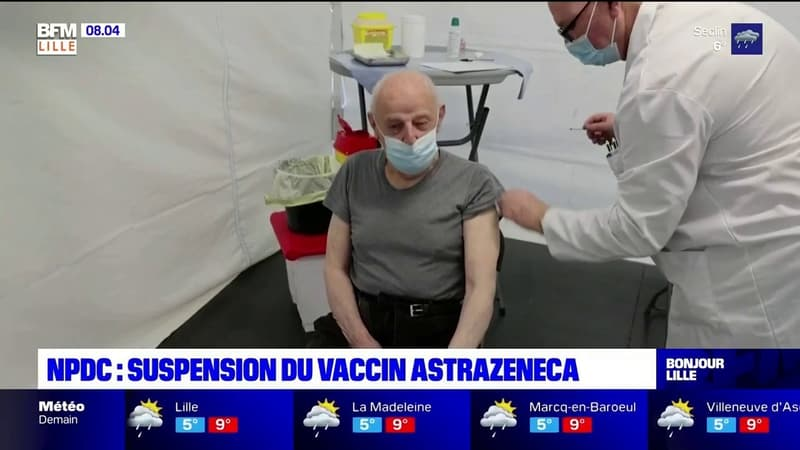 Nord-Pas-de-Calais: le vaccin AstraZeneca suspendu, des rdv annulés