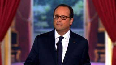 François Hollande a préféré rappeler que la France ne s'est jamais financée à des niveaux aussi bas.