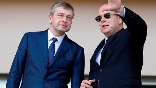 Dmitry Rybolovlev et le prince Albert II de Monaco