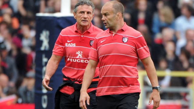 Guy Novès et Yannick Bru