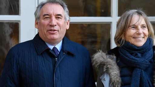 François Bayrou et Marielle de Sarnez
