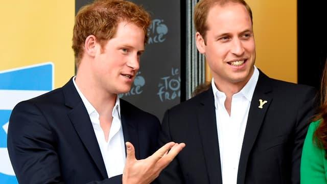 Le prince Williams et le prince Harry