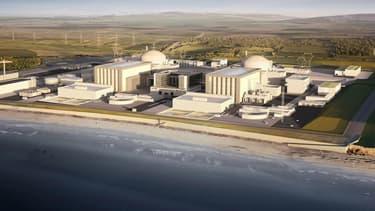 Voici ce que pourrait donner le projet de centrale nucléaire d'Hinkley Point.