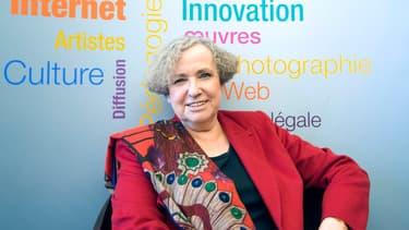 Marie-Françoise Marais, présidente de la Hadopi, est à la tête d'une autorité qualifiée de mal aimée par le rapport sénatorial.