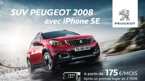 Disponible pour l'instant uniquement sur le Peugeot 2008, l'offre voiture + smartphone pourrait être étendue sur d'autres véhicules, avec pourquoi pas, d'autres modèles de téléphone.