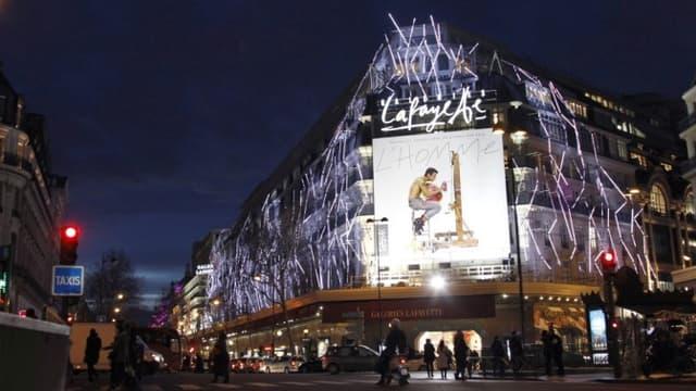 Les Galeries Lafayette s'installeront bientôt dans le bâtiment qui accueillait auparavant le Virgin Megastore.