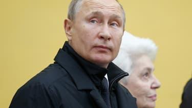 Vladimir Poutine, président russe ce 11 décembre 2018.