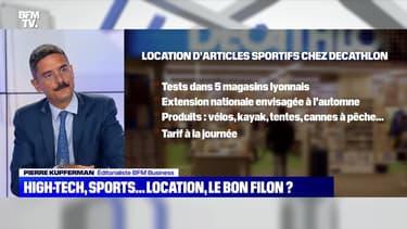 High-tech, sports...location, le bon filon ? - 21/07