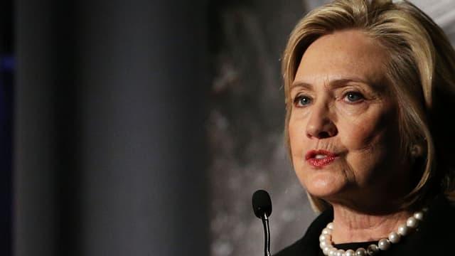 Hillary Clinton, ici le 21 novembre 2014