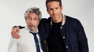 Alain Chabat et Ryan Reynolds