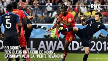"""Belgique : """"Les Bleus ont peur de nous"""", Batshuayi veut sa """"petite revanche"""""""
