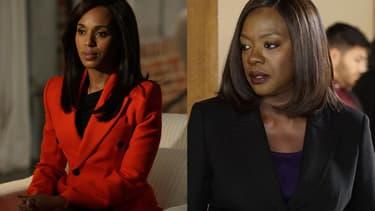 """Kerry Washington et Viola Davis, les actrices de """"Scandal"""" et """"Murder"""""""